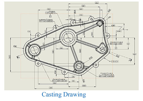 Casting drawing